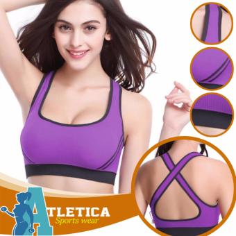 Atletica Fitness Seamless Active Sports Bra (Lavender) Price Philippines