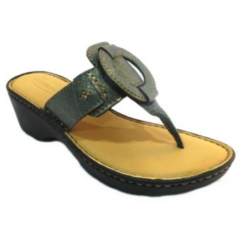 Harga Outland Macy Sandals (Blue Gold/Lt Brown)