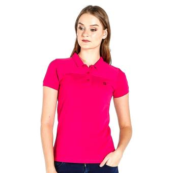 PENSHOPPE Ribbed Ladies Polo (Pink) Price Philippines