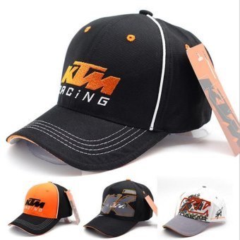2017 New Moto GP KTM Cap Racing Snapback Hat Sport Outdoor Cap Adjustable Baseball Cap - intl Price Philippines