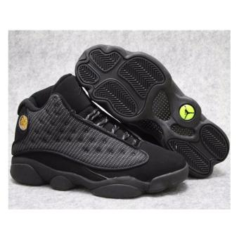 Men Basketball Shoes For Jordan13 Sneakers(Black) - intl Price Philippines