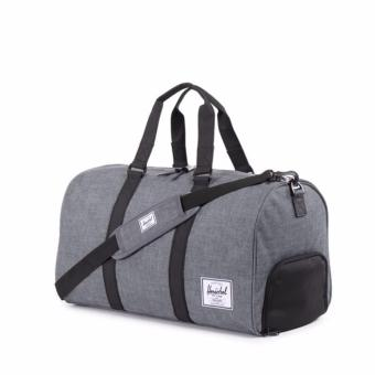 Harga HERSCHEL NOVEL DUFFLE CHARCOAL CROSSHATCH