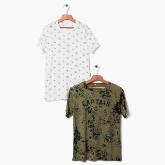 Tee Culture 2-piece Teens Graphic Tee Set (XL) Price Philippines