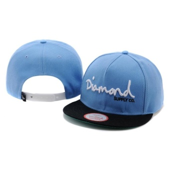 Harga Comfortable Fashion Diamonds Supply Co. Snapback Cap Adjustable Sport Hat - intl
