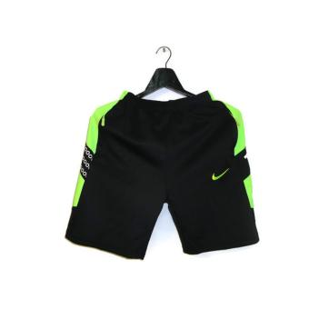 Harga Nike Jersey Short with Zip Pockets (Black/Green)