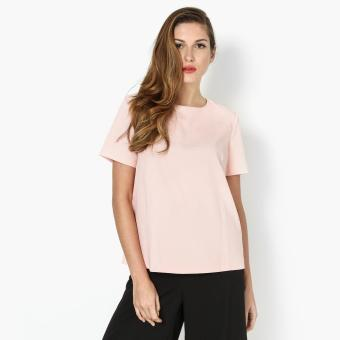 Harga SM Woman Boxy Top (Peach)