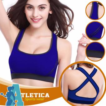 Atletica Fitness Seamless Active Sports Bra (Blue) Price Philippines