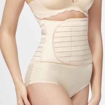 Harga Yabyab Store Tummy Band Postnatal Recovery Belt Girdle with Velcro closure, no Hook (Skintone)