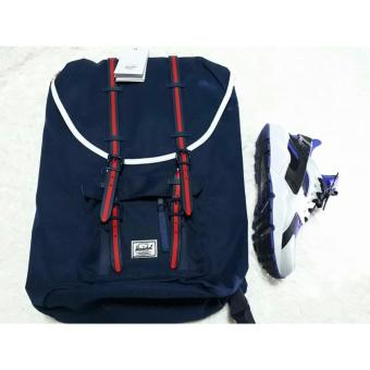 Harga Authentic Herschel Supply Little America Navy Blue 23.5L Backpack
