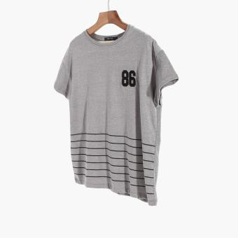 Harga SM Woman 86 Patched Tee (Gray)