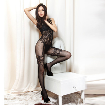 Harga Erotic Lingerie 2016 Sexy Wome n Mesh Babydoll Underwear Ope n Croth Transparent Nightwear Fishnet Bodystocking Intimate Nightgown