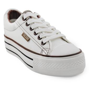 Tanggo Coleen Fashion Sneakers Lightweight Breathable Shoes (white) Price Philippines