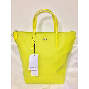 Harga LACOSTE WOMEN'S L.12.12 CONCEPT VERTICAL TOTE BAG YELLOW