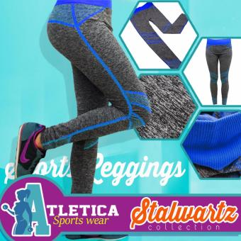 Atletica Fashionable Active Sports Leggings 907 (Blue) Price Philippines
