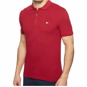 Harga LACOSTE SILVERCROC SLIM FIT FOR MEN (MAROON)