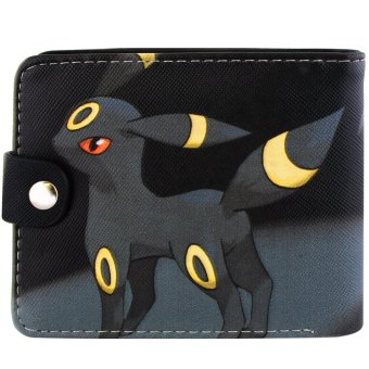 ANIME ZONE Pokemon Anime Fierce Umbreon Trendy Bifold Casual Leather Wallet Price Philippines