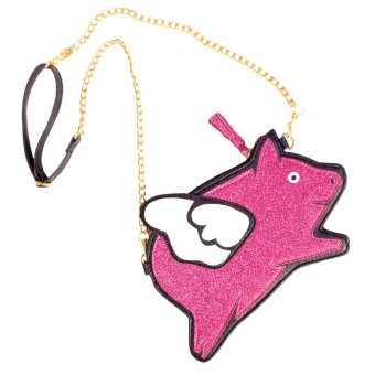 Baby Fashionista Flying Pig Bag (Fuchsia) Price Philippines