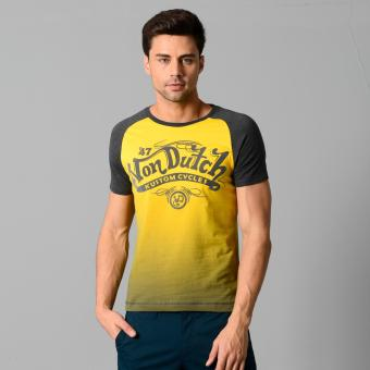 Von Dutch S/S Raglan Top (Lemon Chrome) Price Philippines