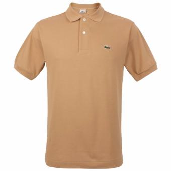 Harga LACOSTE CLASSIC POLO SHIRT FOR MEN (CAPPUCCINO)
