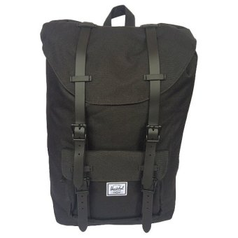 Harga Herschel Supply Co. Little America Backpack (Black/Black Rubber)