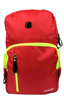 Nick 238 Backpack (Red) With Free LED Watch (Assorted Color) Price Philippines
