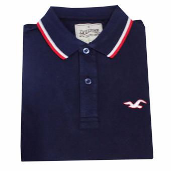 Hollister 1601 Men's Polo Shirt(Navy Blue) Price Philippines