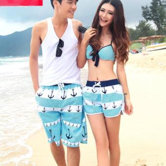 HM Designs Summer Matching-Couples Casual Beach Shorts (Nautica) Price Philippines