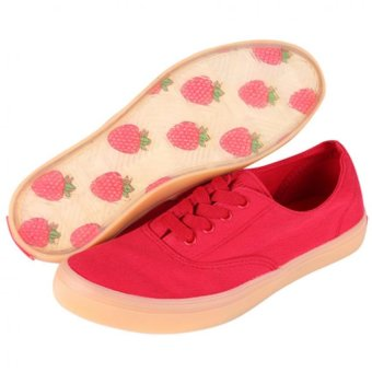 Harga World Balance Roxette Shoes (Red)