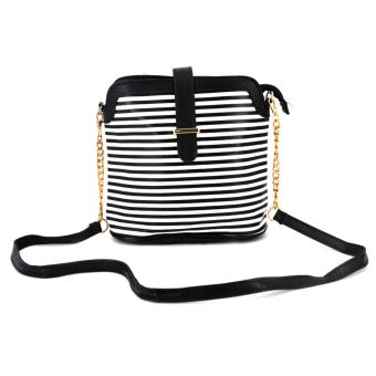 Fashionista Ladies Shoulder Bag (Black) Price Philippines