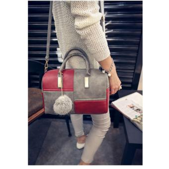 Harga korean fashion Shoulder bag (red)