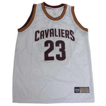 Cavaliers 23 James Basketball Jersey Sando (White) Price Philippines