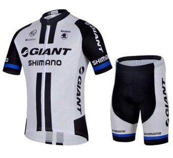 Harga Giant Cycling Jersey Clothing Set Short Sleeve Cycling Sports Jersey Short with Gel Pad (Intl)