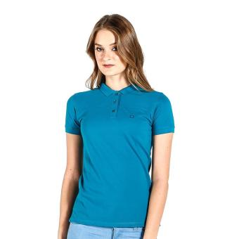 PENSHOPPE Ribbed Ladies Polo (Teal) Price Philippines