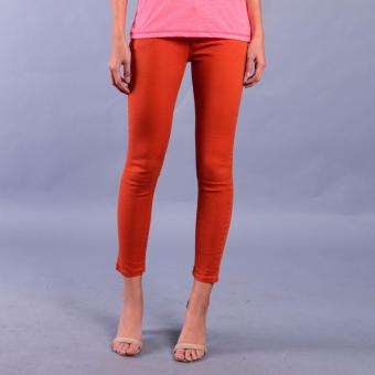 Harga Rifle by Rodeo Drive Girl's Low Waist Super Skinny Pants (001Fine Rust)