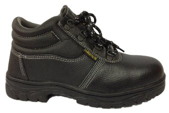 Meisons Safety Shoes Hi Cut Nitrile Sole (Black) Price Philippines