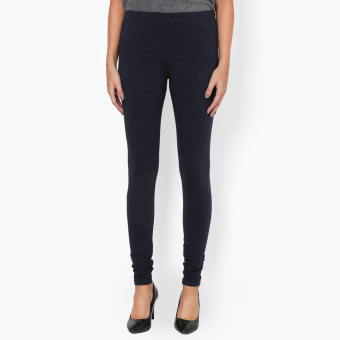 Harga SM Woman Basic Leggings (Navy Blue)