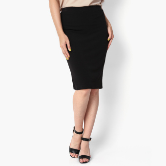 Harga SM Woman Prima Midi Pencil Skirt (Black)
