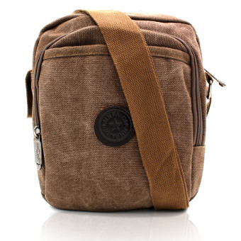 Attraxion Andrei 1143-15 Crossbody Bag for Men (Dark Brown) Price Philippines