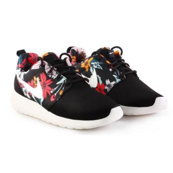 NIKE WOMEN ROSHE ONE PRINT BLACK/FLOWERS SHOES 599432-090 09H' - intl Price Philippines
