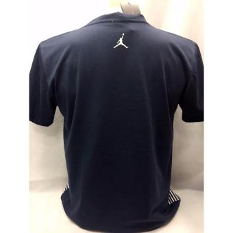Jordan Logo with pin stripes t-shirt adult medium Price Philippines