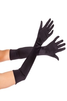 Okdeals Nice Satin Party Long Gloves Black Price Philippines