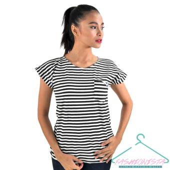FASHIONISTA Women's Fashionable Stripe Blouse Price Philippines
