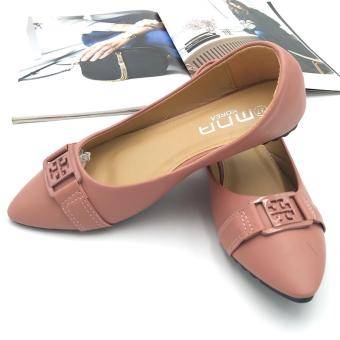 Fantasy Mna Ladies Pointed Doll Shoes 218-21 (Pink) Price Philippines