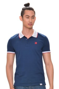 Harga Bobson Men's Combi Polo Tee (Blue)