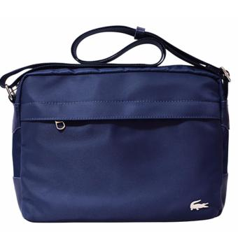 Harga Lacoste Horizontal Messenger Bag (Blue)