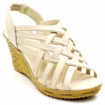 Tokyo Shoes Alice Fresh 918 Wedge Sandals (Beige) Price Philippines