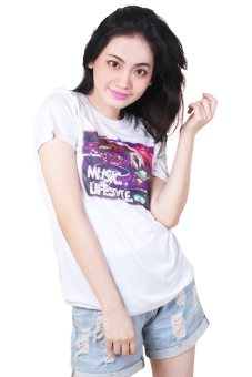 Music Lifestyle Quotable Printed White Shirt Price Philippines