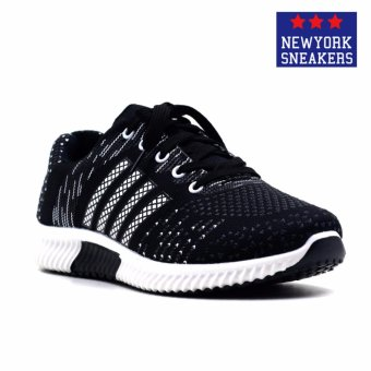 New York Sneakers Zach Rubber Shoes(BLACK) Price Philippines