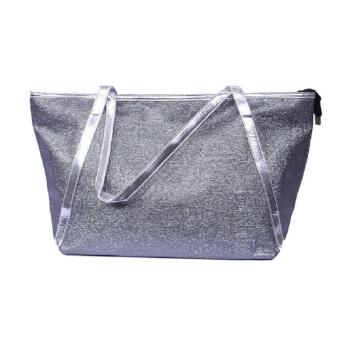 Ladies' Tote Bag with Silver Lining(Silver) Price Philippines