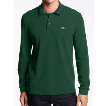 Harga LACOSTE CLASSIC LONGSLEEVES FOR MEN (MOSS GREEN)